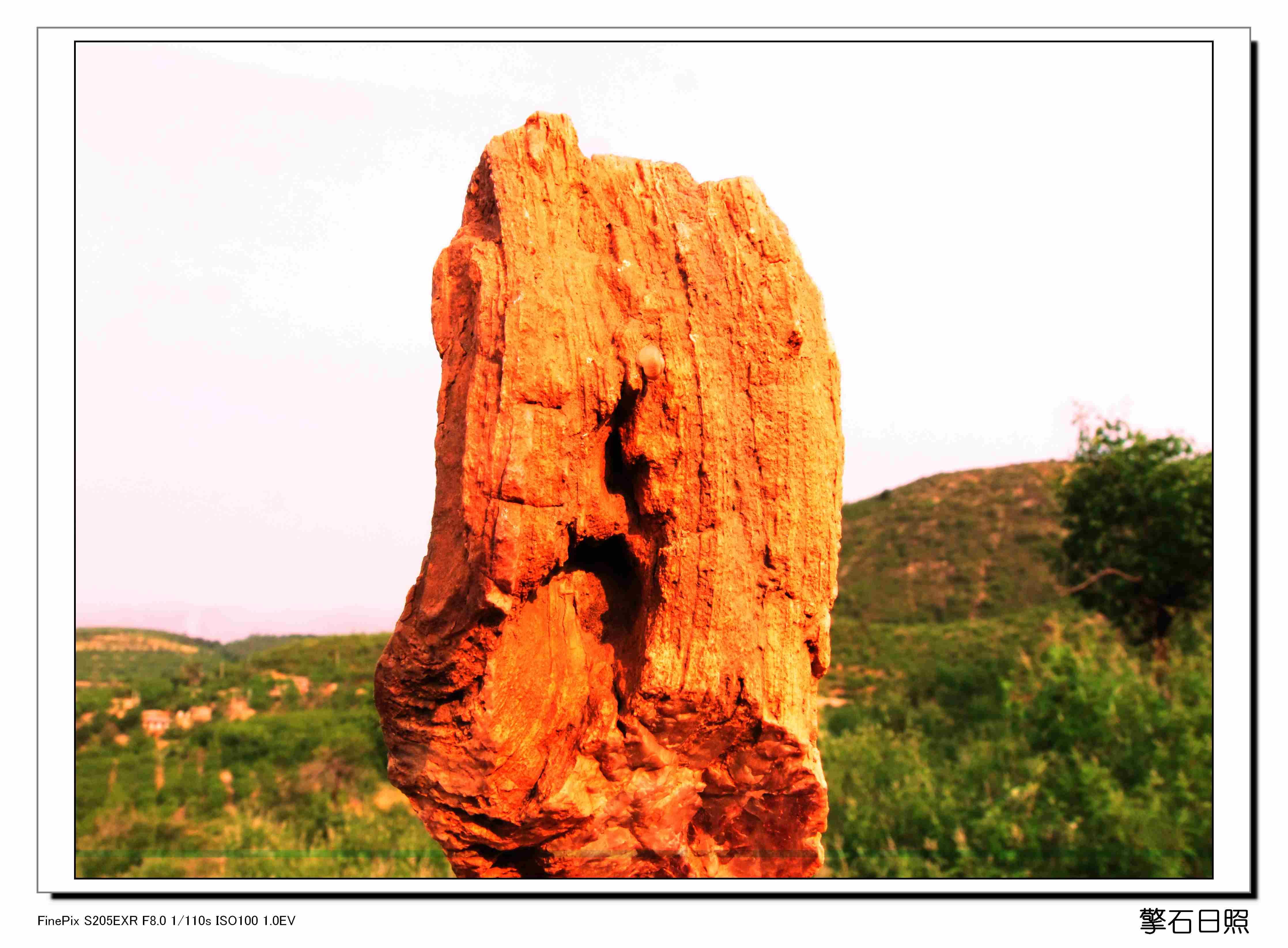 郝家沟的石头