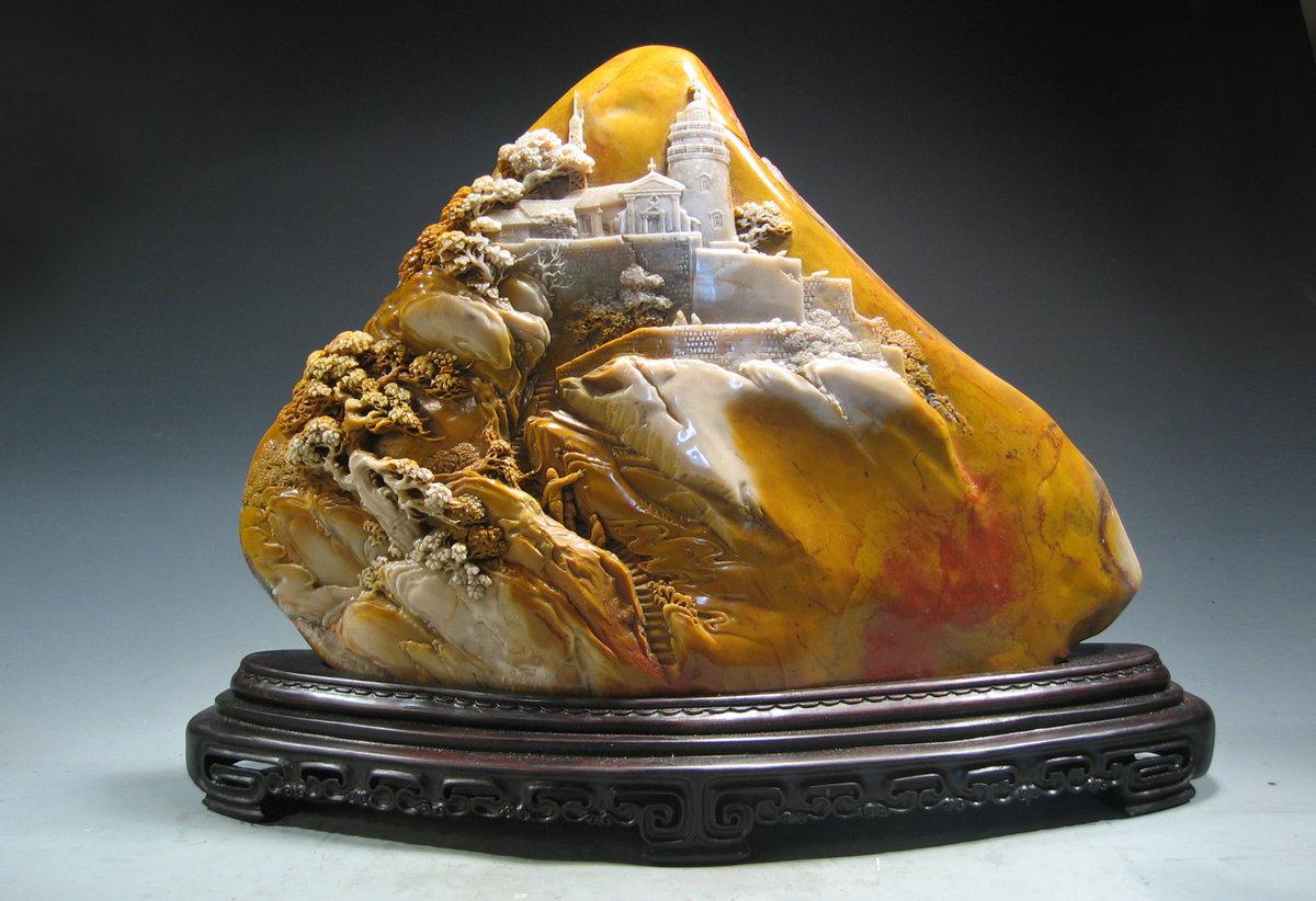 精美珍贵的玉石雕刻欣赏