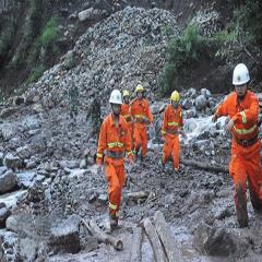 贵州关岭山体滑坡致百余人被埋