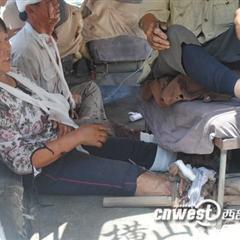 [讨论][转贴]陕西横山煤老板雇佣黑社会砍伤樊家河村民70多人