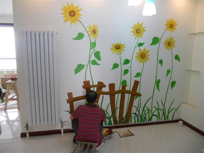 惠泽手绘墙画