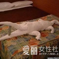 一对情侣从宾馆里出来服务员傻眼了