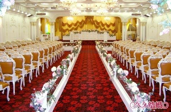 浪漫的婚礼现场