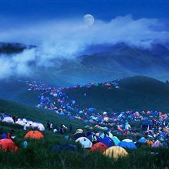 [贴图]武功山帐篷节