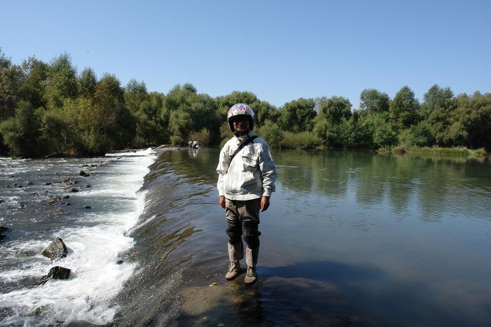 游乌兰浩特的洪福山庄