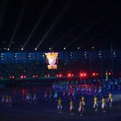 运会开幕式现场照经典
