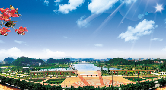 鹤山公园导览图