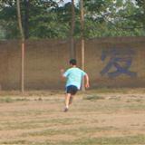 记无极足协5月28日五七学校操场球赛。