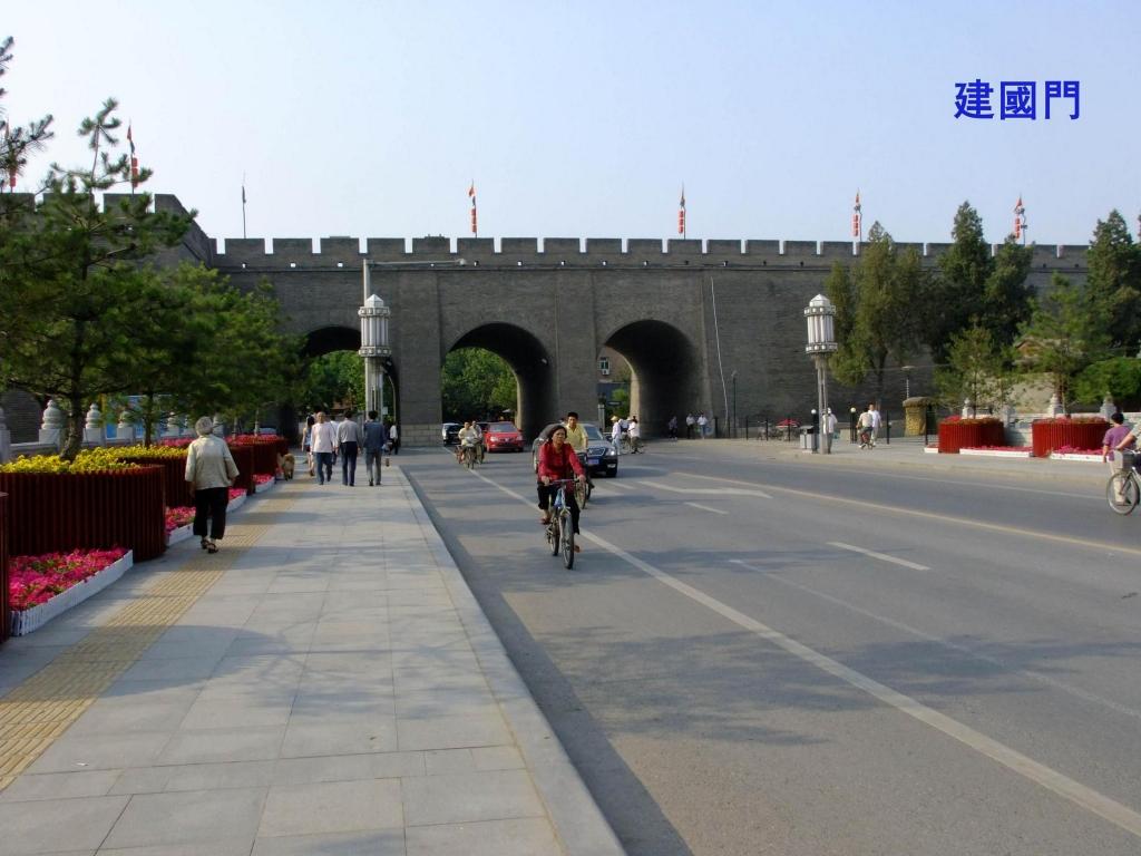 西安城墙城门图片分享