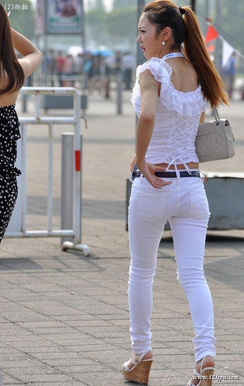 紧身裤性感美女 经典贴图