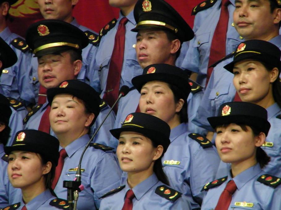 [原创]威尼斯人娱乐平台县直机关庆祝中国共产党成立90周年红歌大家唱比赛现场3