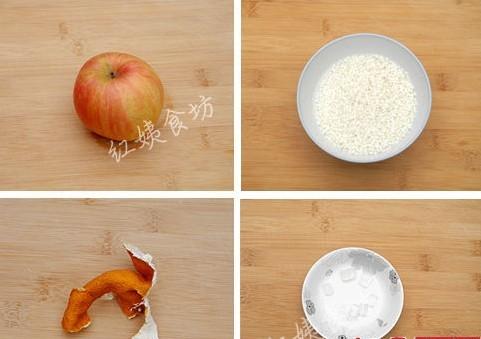 解决脾胃不振的问题—苹果糯米盏