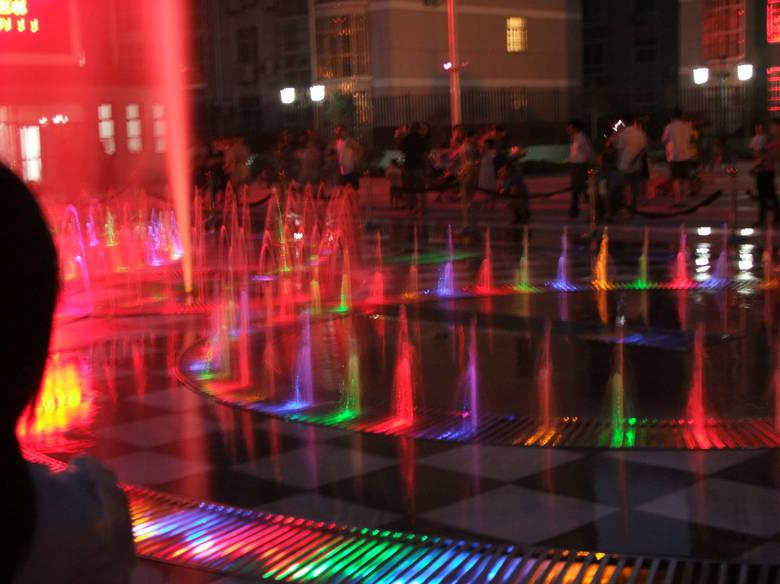 [贴图]888真人娱乐礼乐广场的喷泉