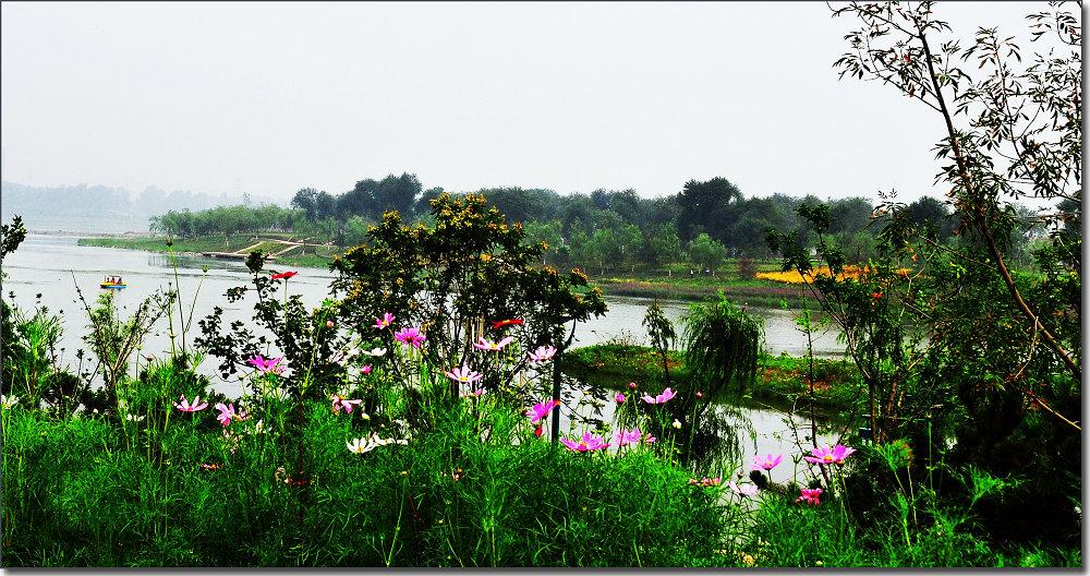 滦水湾公园夏景