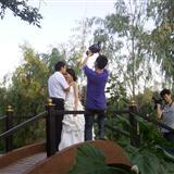 澳门银河网址韩国风情园受到了各大婚纱摄影的青睐