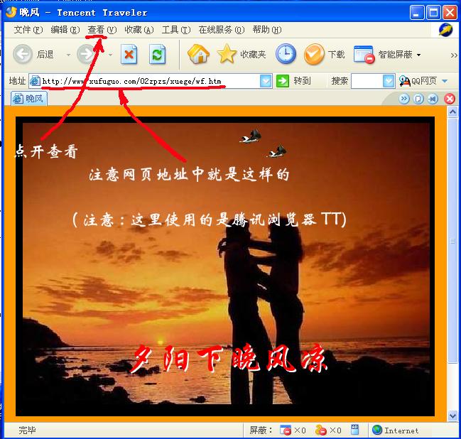 手把手教你找到网页里的SWF的FLASH文件地址