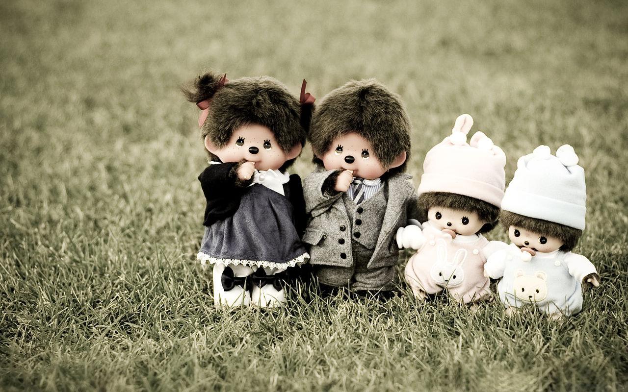 可爱的娃娃蒙奇奇