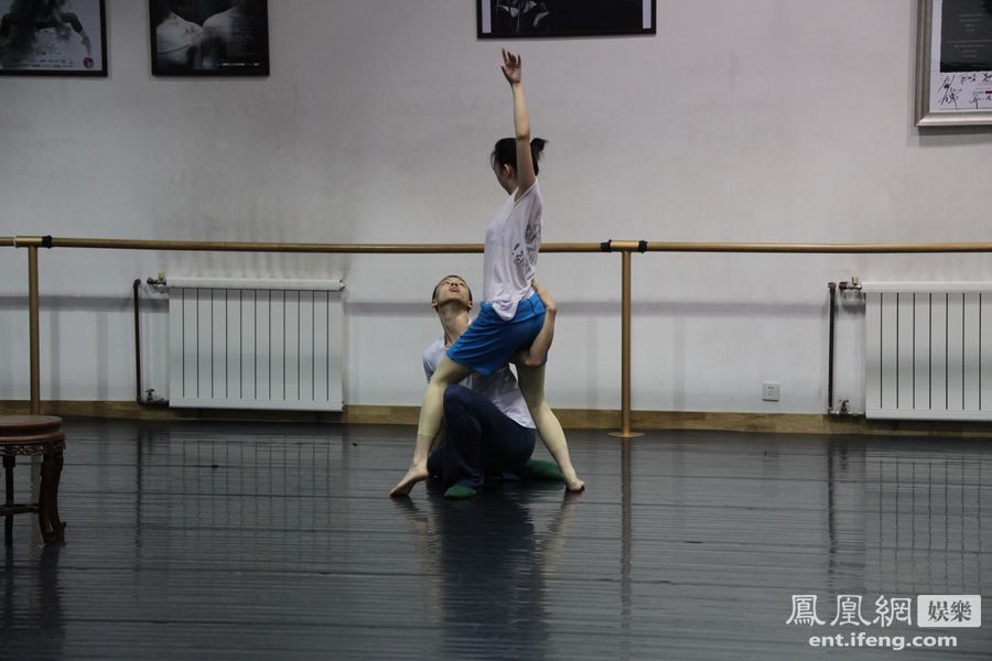 个人芭蕾舞高清素材