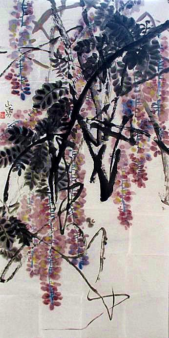 该届展览作品专家评审组由全国著名花鸟画家李荣海,詹庚西,郭石夫