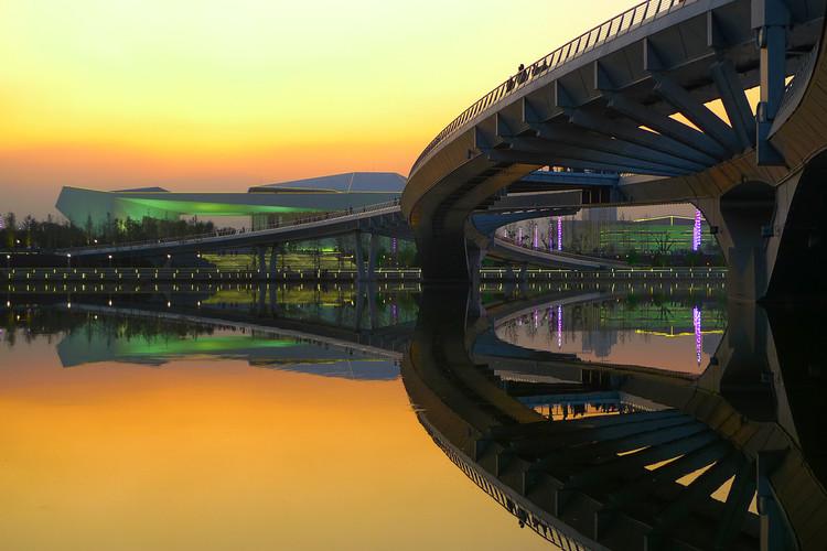 身边的风景-太原汾河桥