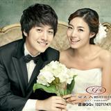 韩式婚纱-沙发