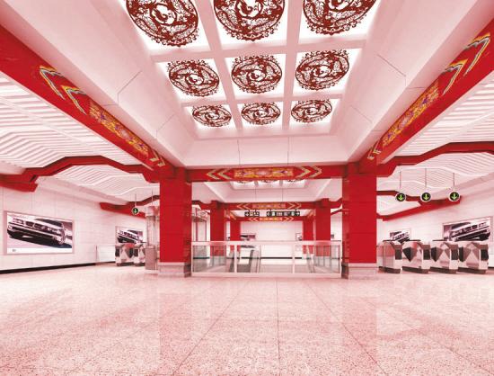 创盈国际地铁二号线北陵站照片
