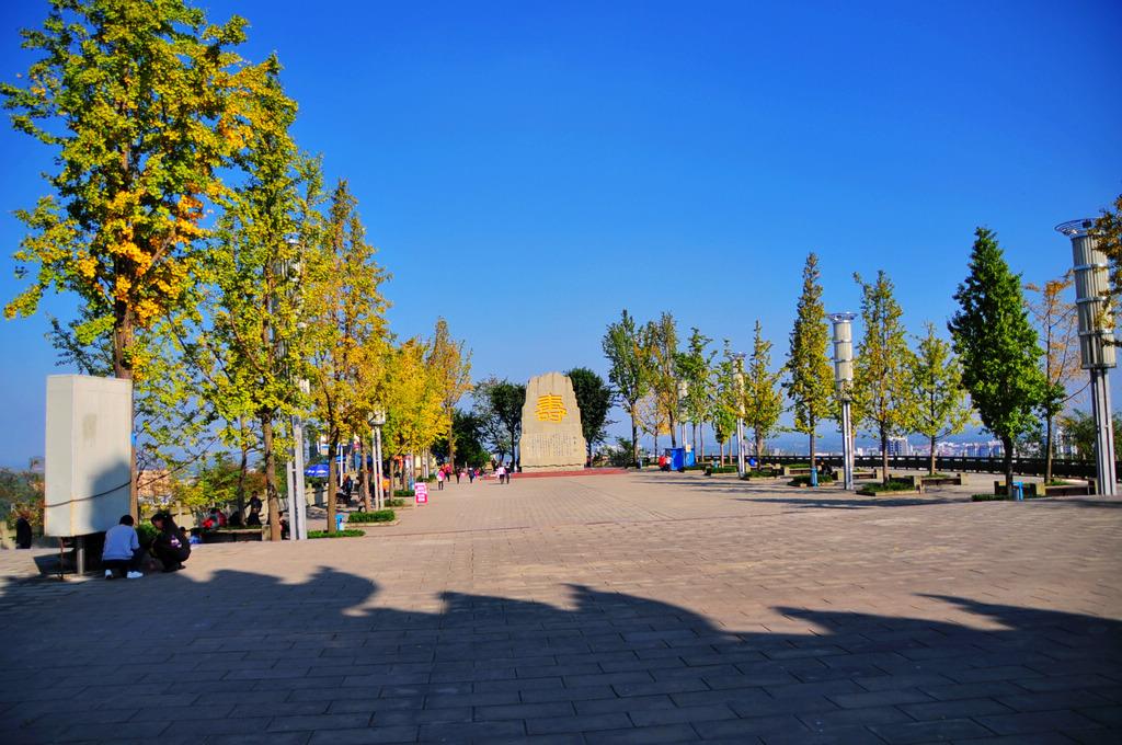 仁寿天梯公园,别样的风景