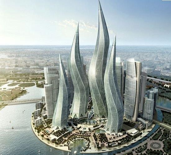 迪拜的疯狂建筑