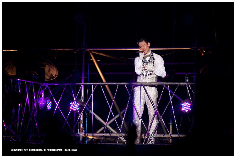 2011张学友惠州演唱会现场(组图)