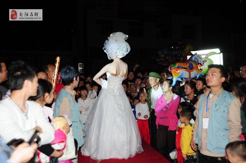 2011时尚婚纱彩妆发布会