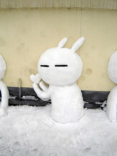 再下雪,你可以这么堆、