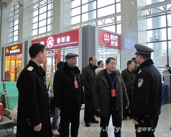 耒阳市副市长殷苌茗:春运安全工作要始终摆在第一位
