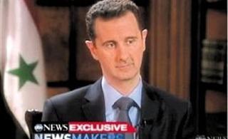叙利亚总统巴沙尔・阿萨德否认下令杀平民称民主需国家成熟