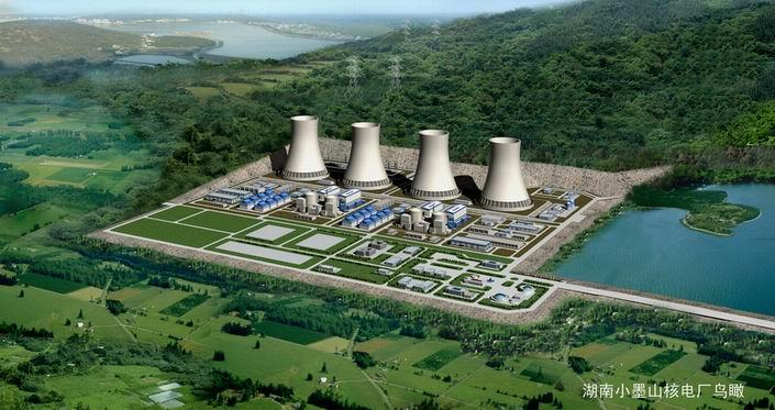 小墨山核电站厂址――湖南核电首选厂址
