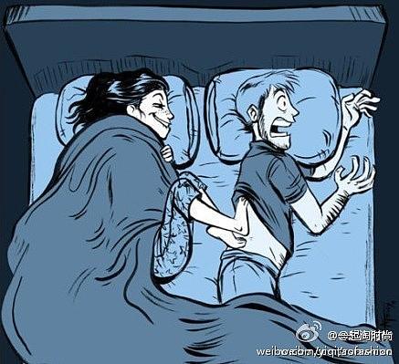 关于男人女人冬天床上这点事,让我很苦恼图片