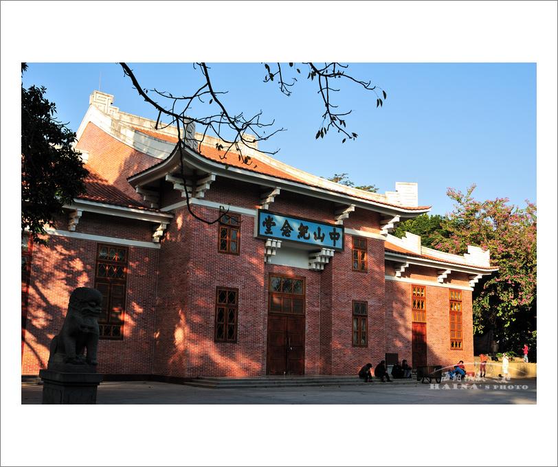 [转贴]暮色下的惠州中山纪念堂(图)