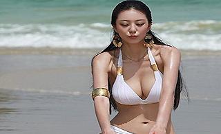 """""""中国第一黄金比例身材""""的美女"""