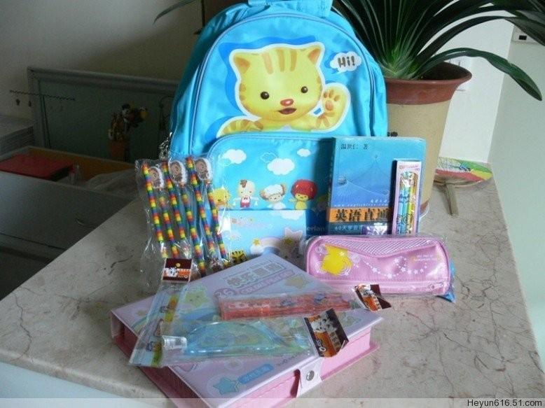 捐赠一个新书包,带给山区孩子新希望书包征集中