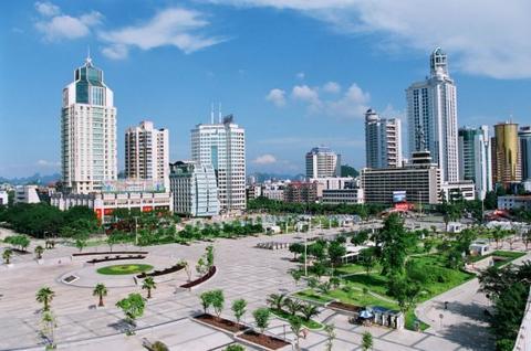 柳州市美麗風景圖