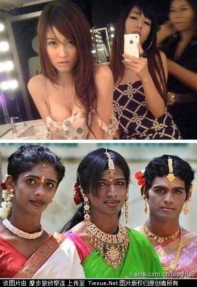 泰国人妖和印度人妖