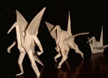 折过千纸鹤吗?现在千纸鹤出2.0版了哦!