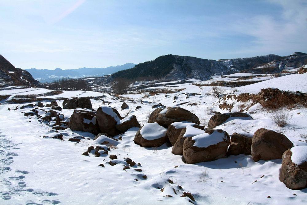 雪后走进老庄上(图片10幅)