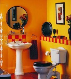 [转贴]卫生间多用黄色有助于身心调节