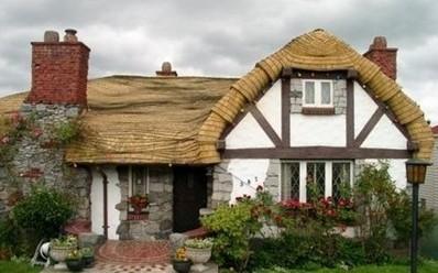 温哥华很童话的房子