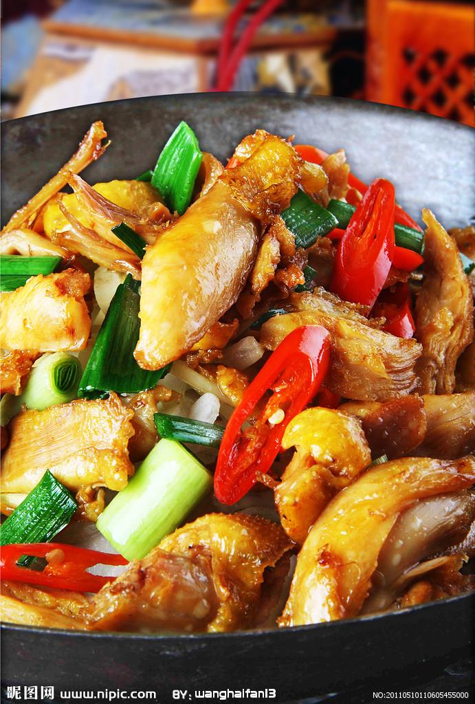 干锅手撕鸡