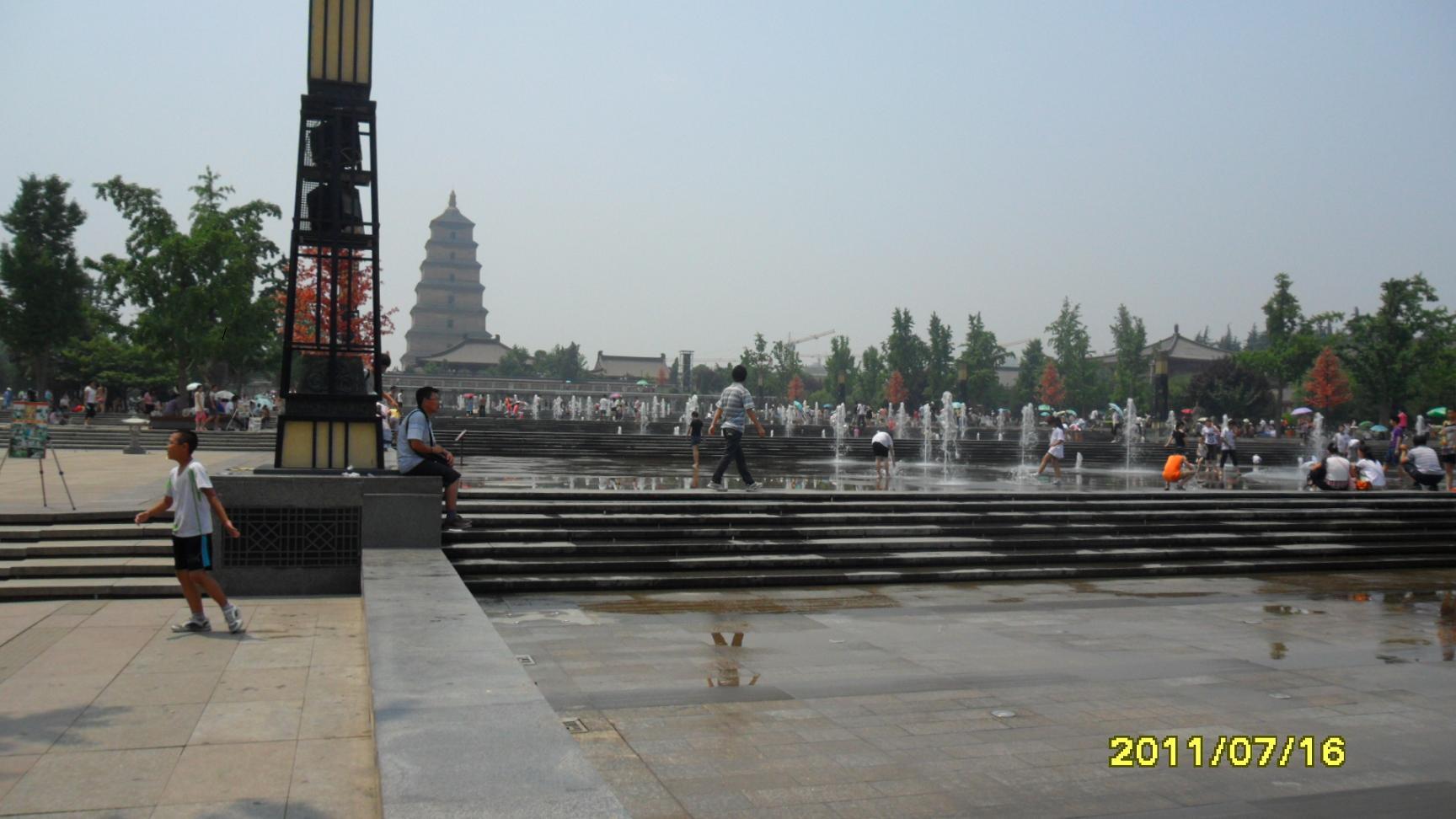 大雁塔及大慈恩寺是唐僧曾经讲经的地方