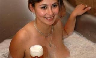 啤酒温泉浴养生秘诀