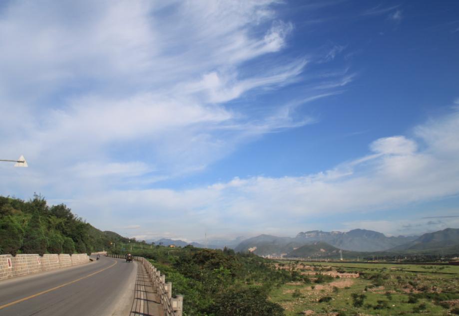 博亿娱乐市难得一见的好天气(2011.8.20云岩寺游记)