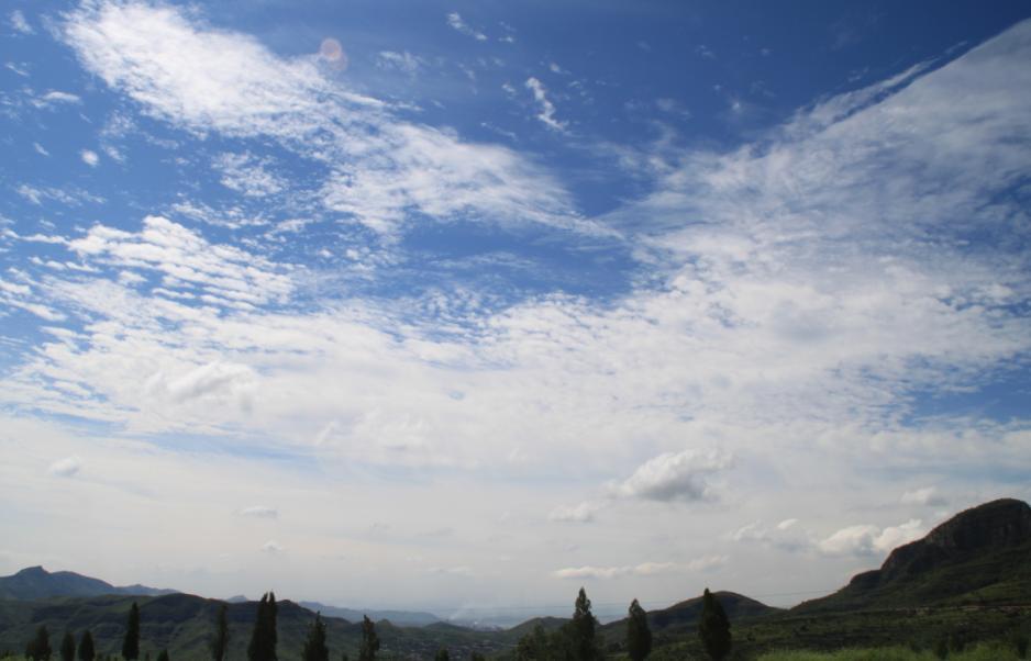 武安市难得一见的好天气(2011.8.20云岩寺游记)