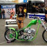 美国摩托车拉力赛辣妹